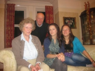 Sian and her wonderful family.
