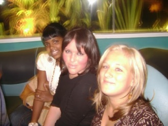 Sian, Melanie and I
