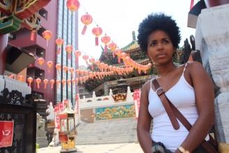 Chinatown in Tokyo