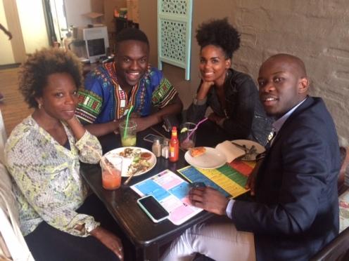 Among Friends in Jo'Burg